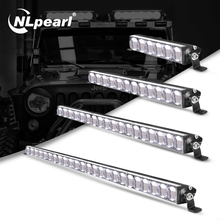 Nlpearl 7 38 zoll Licht Bar/Arbeit Licht CREE Super Helle LED Licht Bar 5D 12V 24V Led arbeitslicht für Lkw Boot UAZ ATV SUV 4x4