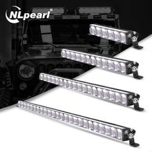 Nlpearl 7 38inch Light Bar/Work Light CREE Super Bright LED Light Bar 5D 12V 24V LED Work Light for Truck Boat UAZ ATV SUV 4x4