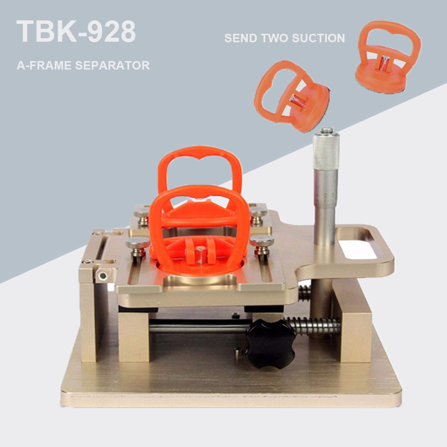 100% Original TBK TBK-928 LCD Touch Screen Dismantle Manual A-frame Separator For Mobile Phone Precisely Repair Adjust By