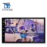 7 Inch universal front panel:178mm*102mm Android 8.1 Car Radio Stereo Audio Stereo Radio WIFI RDS GPS BT Car GPS Navigation
