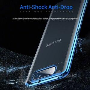 Image 3 - GKK Cassa Di Lusso Originale per Samsung A80 Trasparente Placcatura Protezione Completa Caso Duro Della Copertura per Samsung Galaxy A80 Coque Fundas