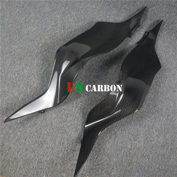 Full Carbon Fiber Motorcycle Accessories Tank Side Panels For Kawasaki ZX6R ZX-6R 219 2019+