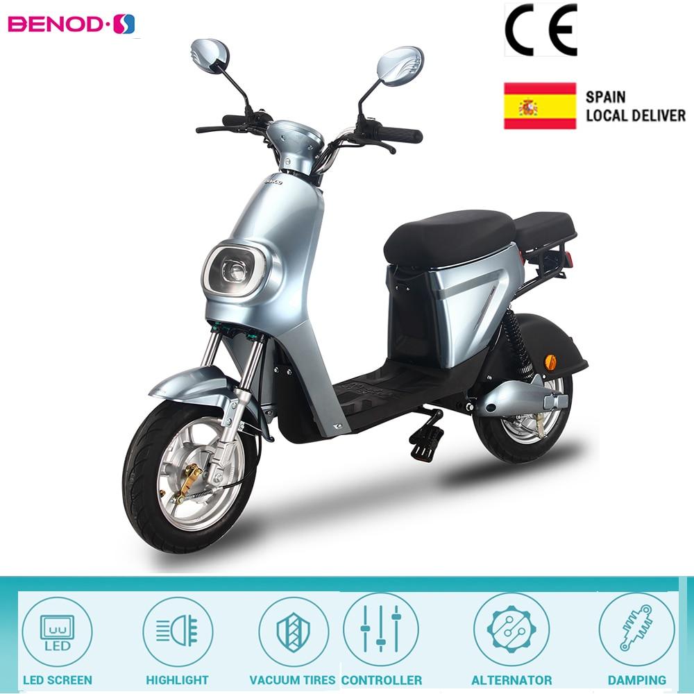 Электрический мотоцикл 350 Вт высокой мощности Мощность 25 км/ч литиевая батарея электрического велосипеда мотор, фара для электровелосипеда...