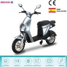 Scooters da motocicleta elétrica 350w de alta potência 25km/h bicicleta elétrica bateria lítio do motor ebike scooter serviço entrega