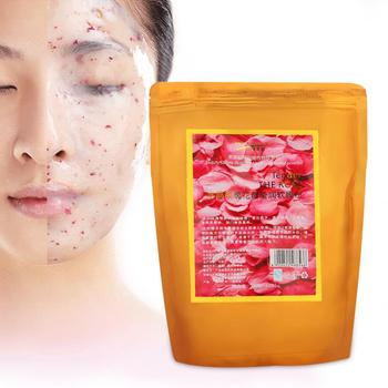 800g Natural Rose Petals Soft Collagen Mask Facial Powder Moisturizing Pores Shrink Whitening Beauty Salon Equipment ocean pearl powder pure seawater your own mask whitening firming 260g beauty salon equipment