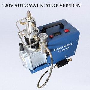 Image 2 - Compressor de ar elétrico de alta pressão, bomba de ar elétrica de 30mpa, 110v/220v, 300bar, arma de ar pneumática, rifle de mergulho inflador do pcp,