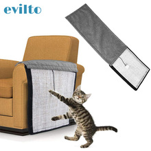 Pet-Furniture Sofa Sisal Scratching-Post Chair Protector-Pad Cat Toy for Natural Cotton