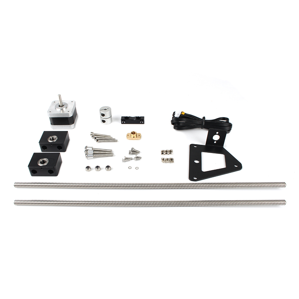 Aluminum Dual Z Axis Lead Screw Upgrade Kit For Creality Ender-3 Pro
