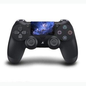 Image 2 - Autocollants en vinyle de pavé tactile de PVC faits sur commande pour Sony Dualshock 4 PS4 Pro/peau protectrice de Conroller de pavé tactile de contrôleur mince
