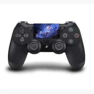 Image 2 - Niestandardowe pcv panel dotykowy winylowe naklejki dla Sony Dualshock 4 PS4 Pro/Slim kontroler Touchpad ochronna konroller skóry
