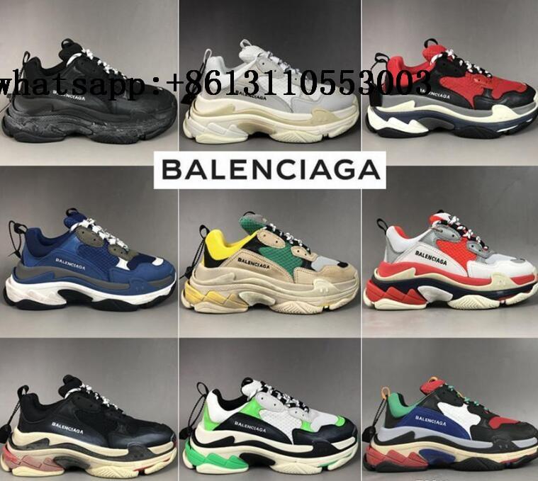 Balenciagas Triple S Black shoes Women