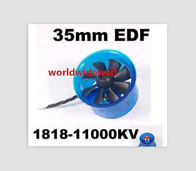 New HL3508 1818 11000KV Motor EDF 35mm Ducted Fan For RC Aircraft Airplane