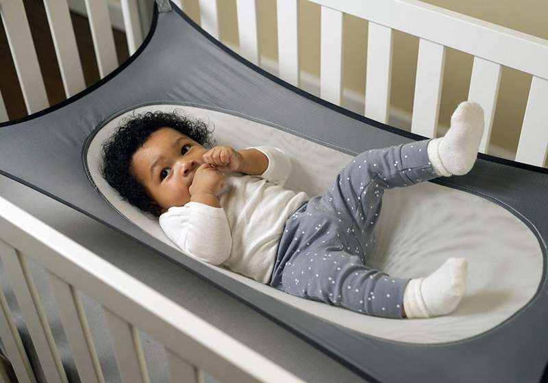Portable Baby Hammock Crib Detachable Sleeping Bed With Adjustable Net By Horizon Care