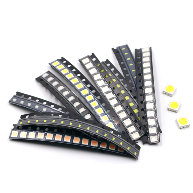 100PCS SMD LED 0402 0603 0805 1206 3528 RGB LED Diode Red Green  Blue White 1615 RGB Full Color Common Cathode Common Anode