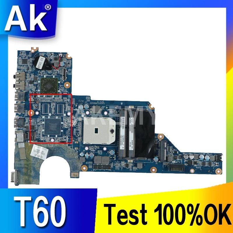 Akemy 649948-001 per HP Pavilion G4-1000 presa FS1 DDR3 della scheda madre del computer portatile G7 G4 G6 G6-1000