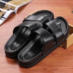 2019 крутые повседневные мужские и женские сандалии в Корейском стиле в стиле Харадзюку, ретро, на плоской подошве, с двойными ремешками, для