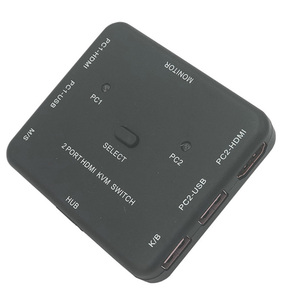 Image 5 - HDMI KVM מתג 1.4v Switcher 2 יציאת 4K HDMI USB עכבר ומקלדת צג בורר שיתוף HDMI מתג KVM עם usb