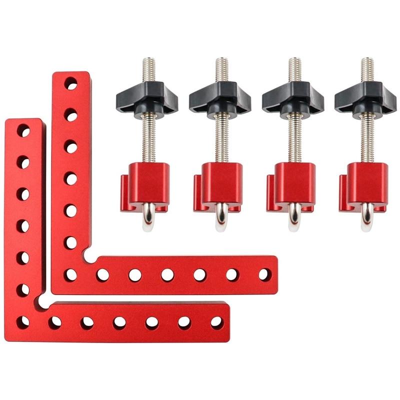 polegada de posicionamento quadrados liga alumínio woodworking