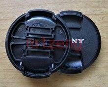 2pc 40,5 49 52 55 58 62 67 72 77 82mm tapa de lente frontal cubierta para sony A Alfa E montaje a7 a7s a9 a58 a7r2 a7r4 rx100 a6500 Cámara