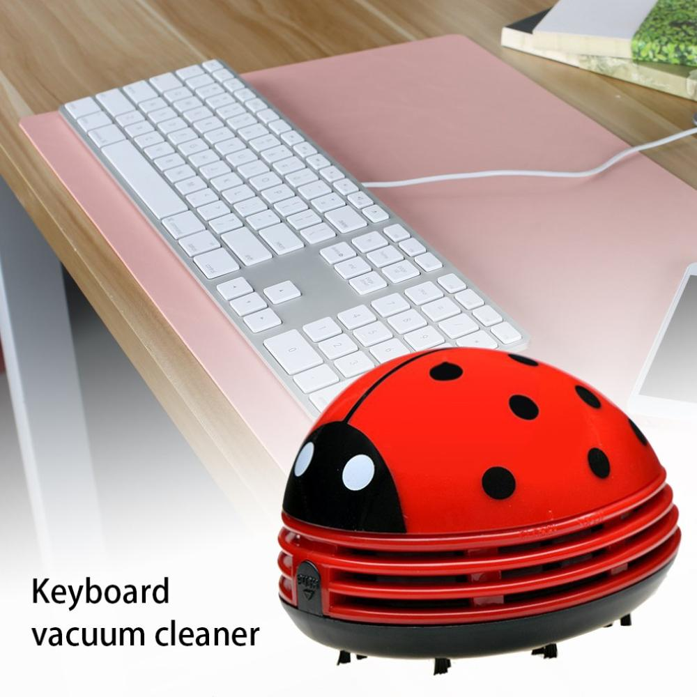 Portable Mini Computer Vacuum Cleaner Cartoon Keyboard Cleaner Laptop Dust Cleaning Kit Battery Operated