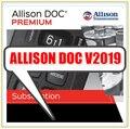 Диагностическое программное обеспечение v2019 new Allison DOC