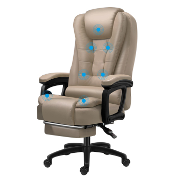 High Quality Boss Office Silla Gamer Poltrona Chair Can Lie Wheel Synthetic Leather With Footrest Ergonomics Office Furniture 1