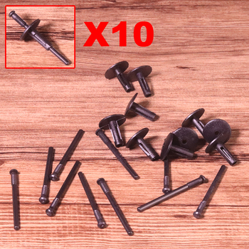 10x Auto Wheel Plastic Rivet Clip Fixing Fasteners Clamp 51777171004 Replacement Trim Cover Fit For BMW E70 E70N E71 X1 X3 X5 X6 image