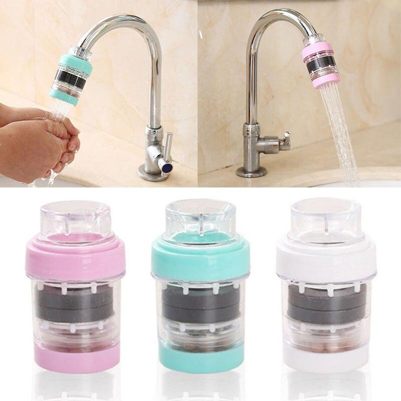 Taps Water Purifier Activated Carbon Water Filter Faucet Element Mount Tap Water Purifier Kitchen Purification Kitchen Set