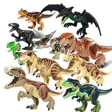 Jurassic Dinosaurs World Park Dinosaur Raptor protection zone Building Blocks Set Kids Toys juguete hot jurassic dinosaurs world park dinosaur raptor protection zone building blocks set kids toys juguetes compatible duploly