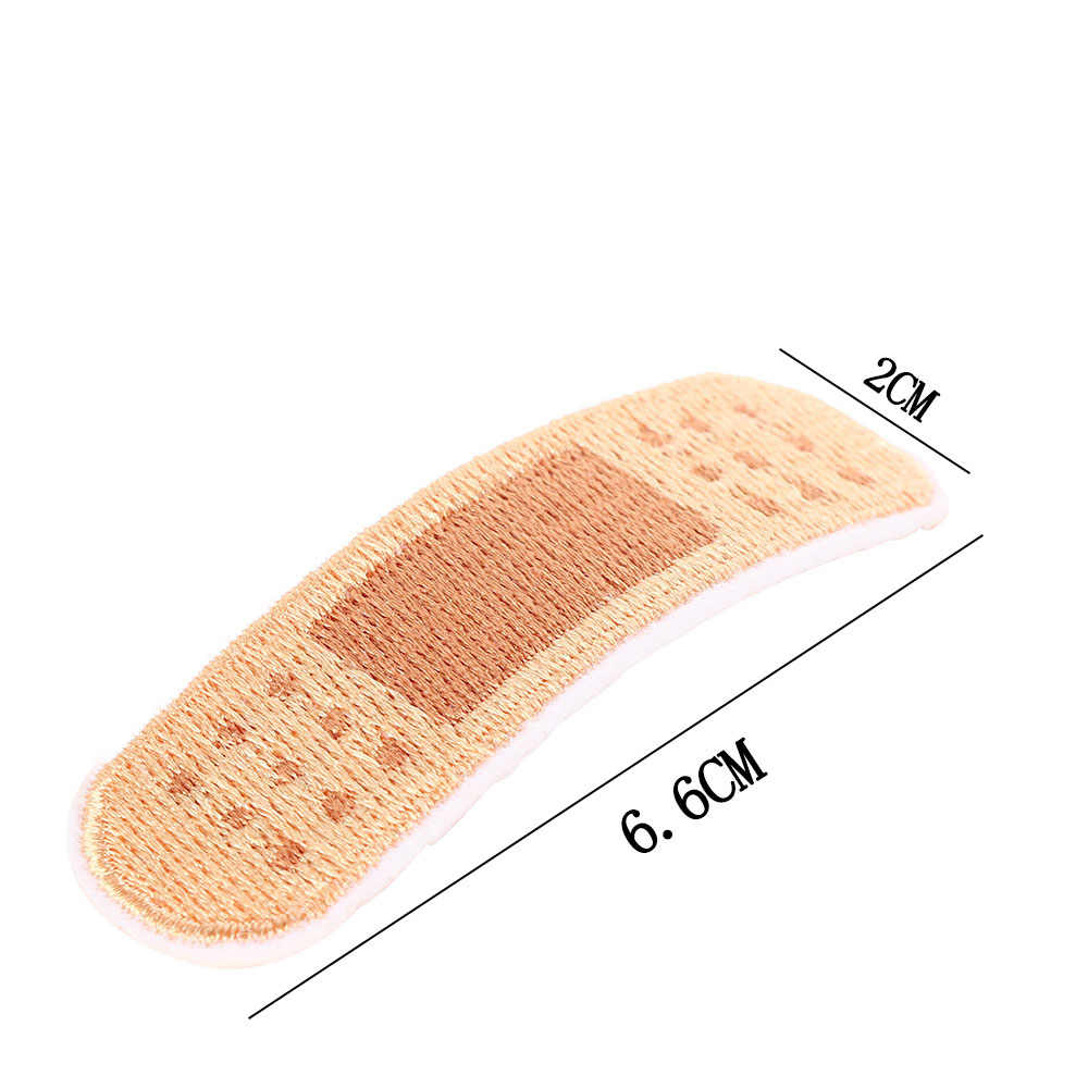 Grappige 1 Pcs Bandage Borduren Patches Voor Tas Jas Jeans Cartoon Ijzer Op Applicaties Diy Kleding Accessoires Sticker