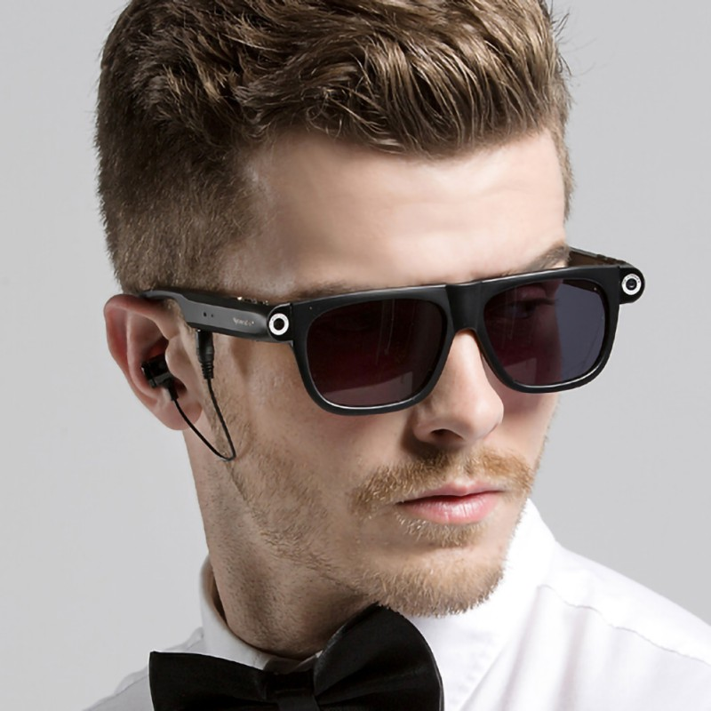 Smart Bluetooth Glasses 8gb With Bluetooth 4.0 And Hands-Free Call HD 1080P Camera Recorder Video GPS Navigation Remind