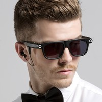 Smart Bluetooth Glasses 8gb with Bluetooth 4.0 and Hands Free Call HD 1080P Camera Recorder Video GPS Navigation Remind