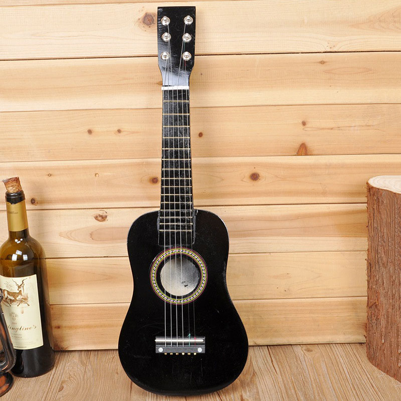 Hot Sale Kids Guitar Musical Toys With 6 Strings Educational Musical Instruments For Children