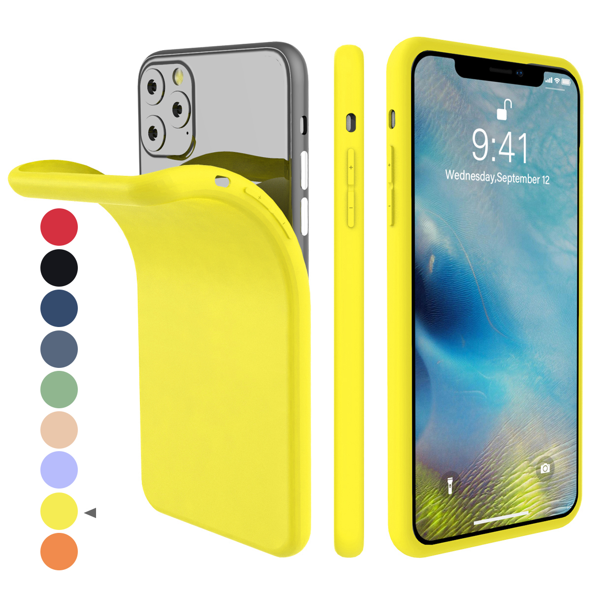 Torubia Silicone Case for iPhone 11/11 Pro/11 Pro Max 122