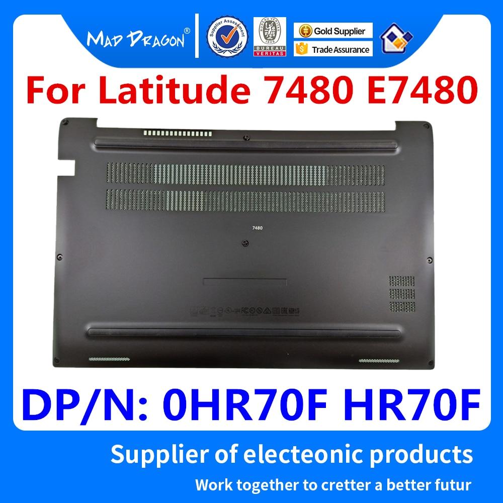 NEW Original Laptop Access Panel Door Cover Bottom Cover Base Lid Back Shell For Dell Latitude 7480 E7480 CAZ20 0HR70F HR70F