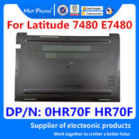 Nueva funda trasera original para Panel de acceso de ordenador portátil  cubierta inferior  funda trasera para Dell Latitude 7480 E7480 CAZ20 0HR70F HR70F