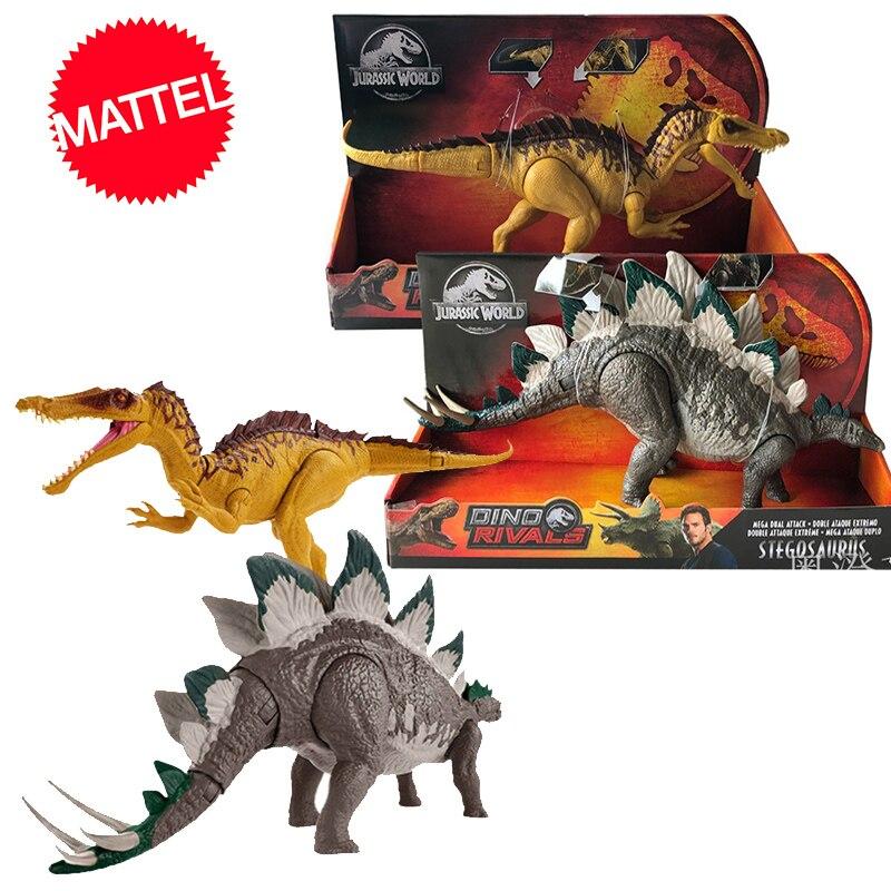 Original 37cm Jurassic World 2 Large Competitive Dinosaur Model Action Figure Of Tyrannosaurus Toys For Children Dragon Oyuncak