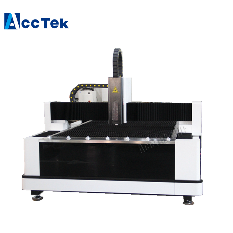 Jinan High Precision And High Quality Laser Cutter For Steel Aluminum Copper AKJ1530F