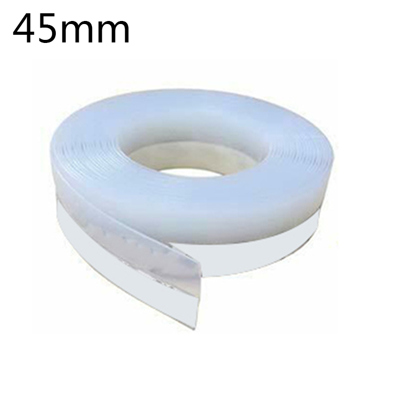 Self Adhesive Sealing Strip 5 Meter Silicone Rubber Translucent Seal Tape Multi functional Soundproof|Sealing Strips| |  - title=