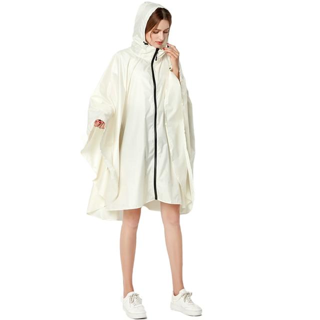 Big Size XXL Women Breathable Raincoat Lightweight Rain Coat Poncho Ladies Waterproof Cloak Raincoats Adults Windproof Rainwear 4