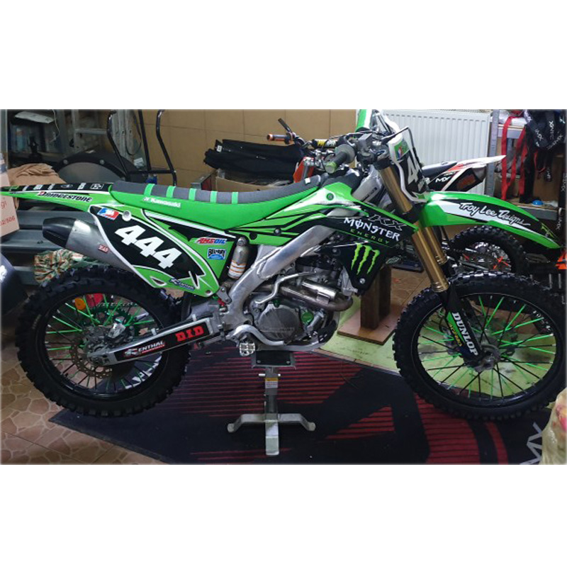 KX65 Swingarm Airbox Number Plate Decals Stickers kx 65 dirtbike graphics