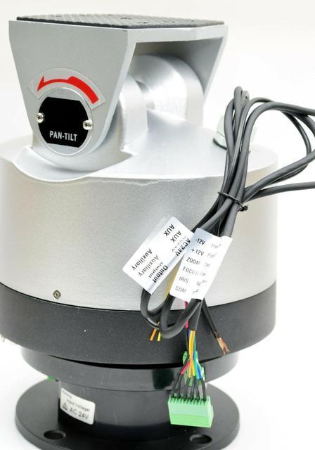 24v AC Outdoor Pan Tilt Motor for CCTV Cameras 18kg Pan Tilt Rotor with rs 485