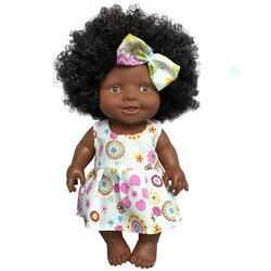 Афро-Африканская кукла, игрушка, подвижная африканская кукла, черная кукла, лучший подарок, игрушка для детей