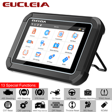 EUCLEIA S7C OBD2 Scanner Support Engine Check ABS Airbag DPF Oil EPB Reset for All Systems Car Professional Diagnostic Tool