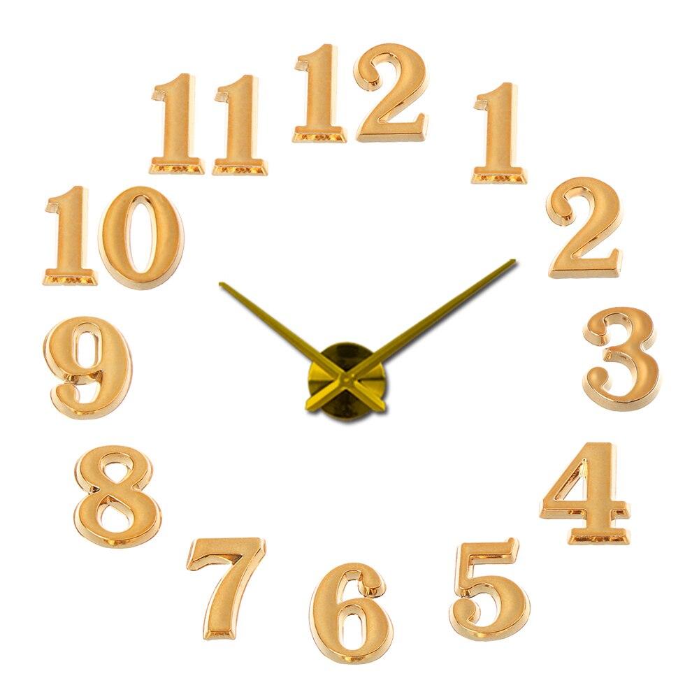 1 SET DIY Digital Replacement Gadget Repair Clock Parts Arabic Number Bell Clock Numerals Clock Parts & Accessories