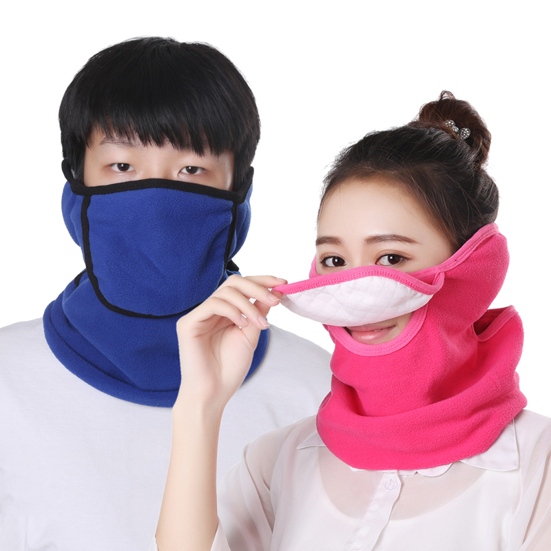 Autumn And Winter New Cold Warm And Dustproof Anti-odor Mask Unisex Neck Earmuffs Three-in-one Mask