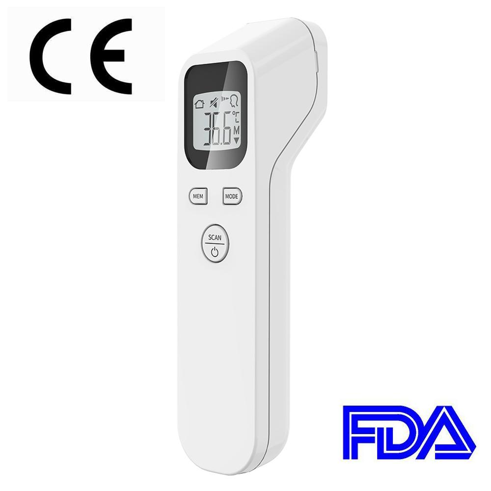 Adult Baby Digital IR Infrared Body Thermometer Forehead Surface Temperature With LCD Backlight Ear Body Thermometer Gun