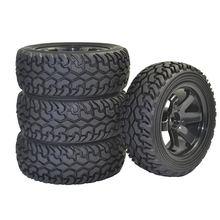 1/10 4 шт резиновые шины и колеса для радиоуправляемой машины