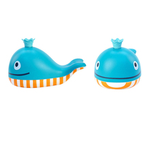 Hape baby bath toys water toy for kids colourful dolphin on swimming pool