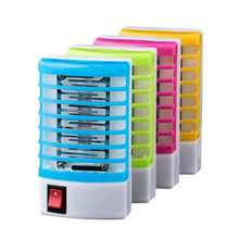 Mosquito Killer Lampen Led Socket Elektrische Mosquito Fly Insect Insect Trap Killer Zapper Night Lamp Lights Verlichting Muggen Killer(China)